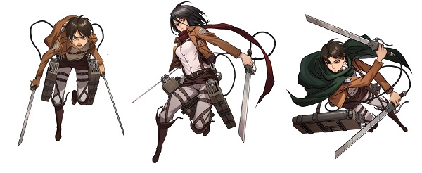 Attack On Titan Character Base