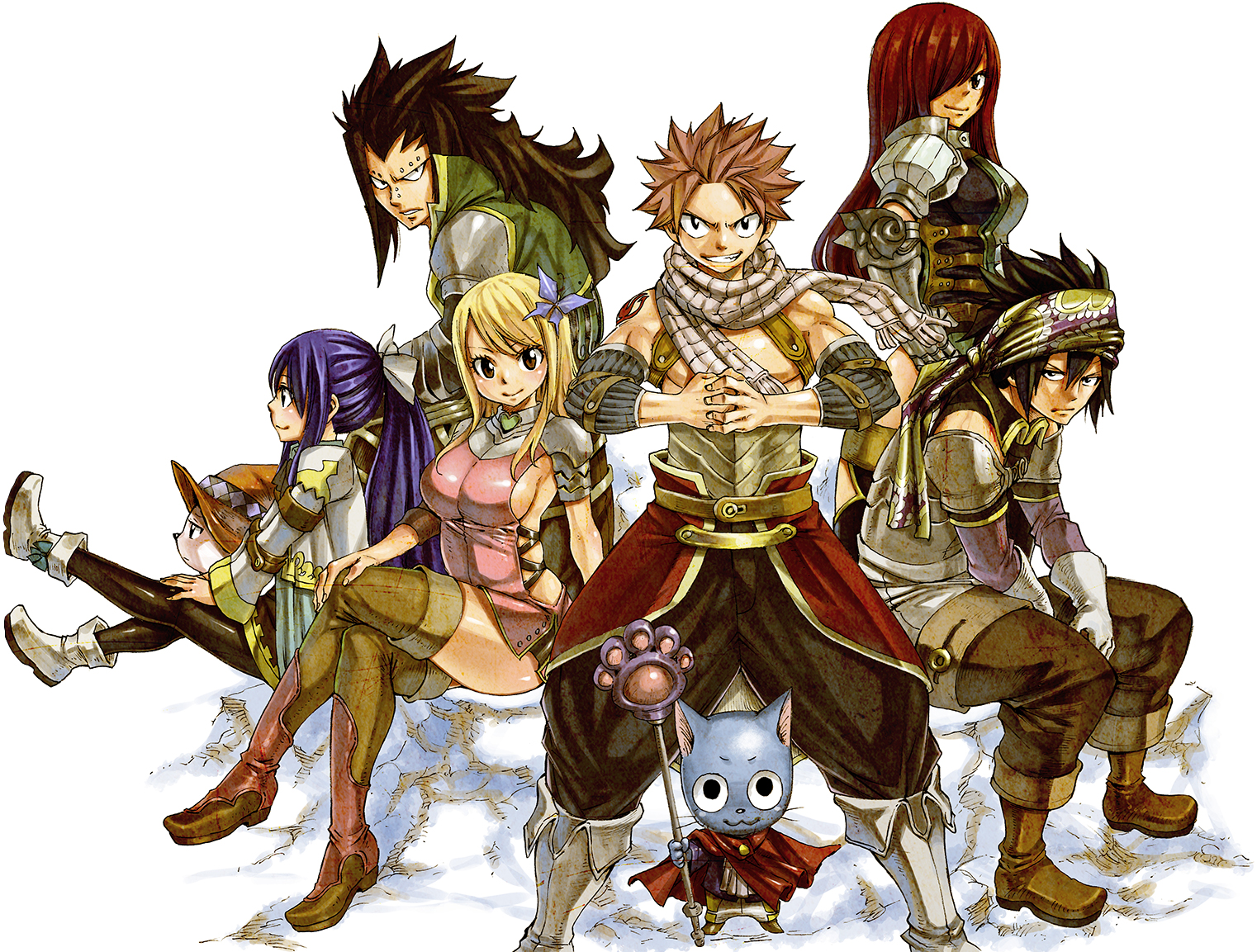 Le nouvel anime fairy tail en illustrations - Image de natsu fairy tail ...