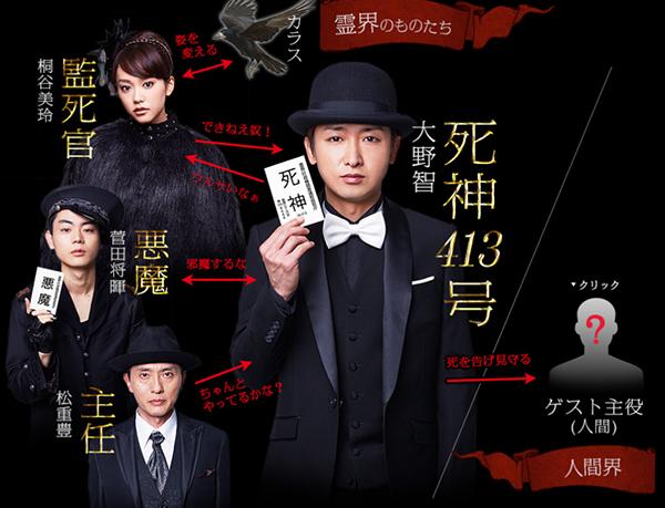 Shinigami-kun-drama-characters