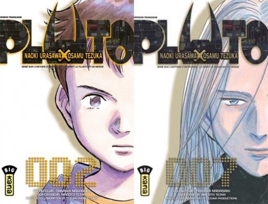 Pluto-manga-tomes