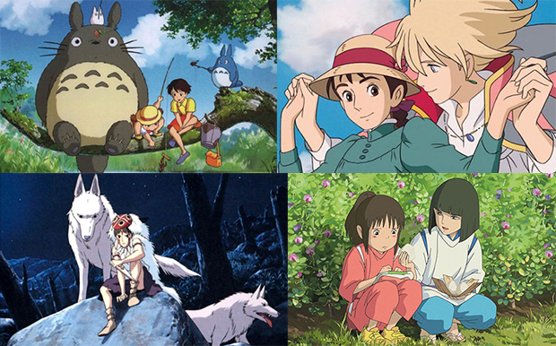 Ghibli-production-movies