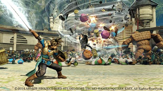Le jeu Dragon Quest Heroes, en Gameplay Vidéo TGS 2014