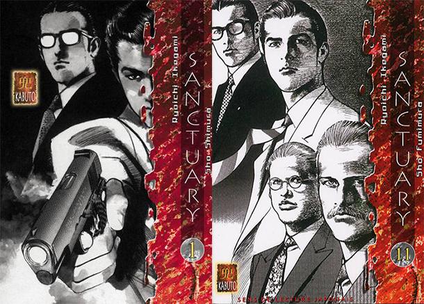 Sanctuary-manga-tomes