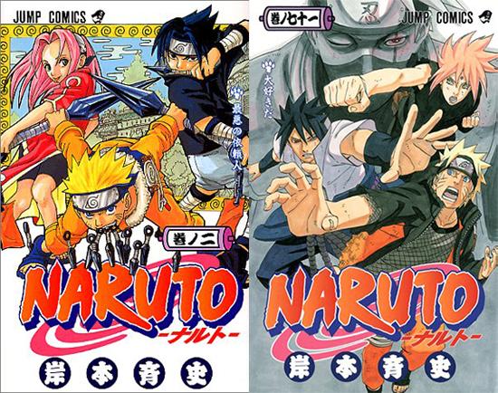 Naruto-tomes