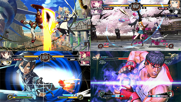 Street-Fighter-Guilty-Gear-Dengeki-Fighting