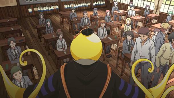 L'anime Assassination Classroom, en Promotion Vidéo