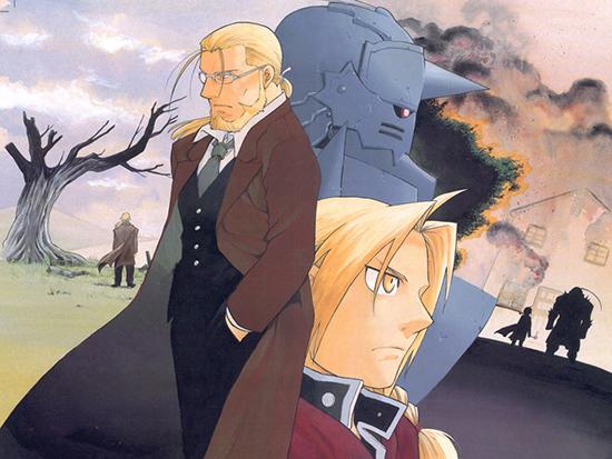 Fullmetal-Alchemist-illustration-manga