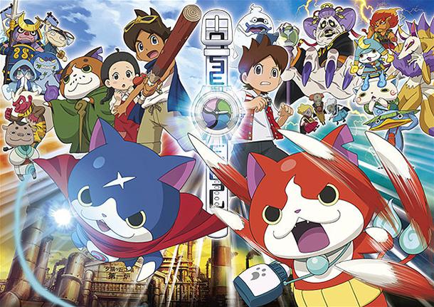 Premiers chiffres du film animation Youkai Watch, révélés