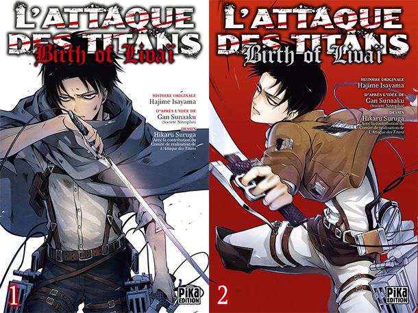 Attaque-des-Titans-Birth-of-Livai-tomes-manga