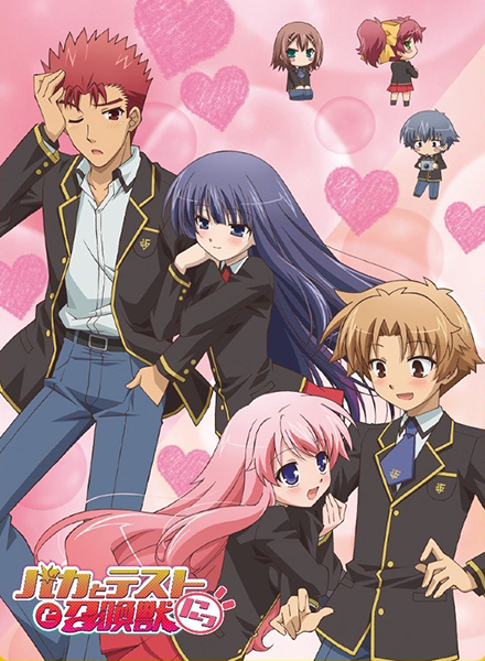 Baka-to-Test-to-Shoukanjuu-DVD
