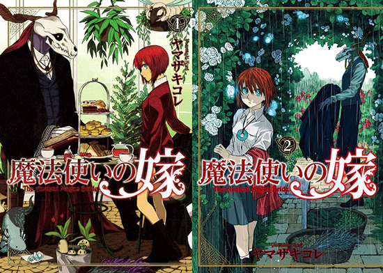 Recomendadme mangas sin anime Mahou-Tsukai-no-Yome-tomes-550x
