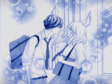 Kabedon-manga-blue-spring-ride