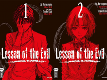 Lesson-of-the-Evil-manga-tomes