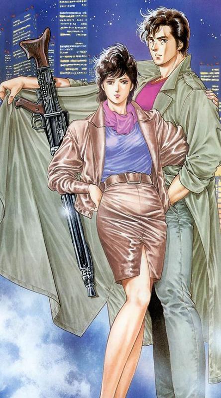 City-Hunter-illustration-manga