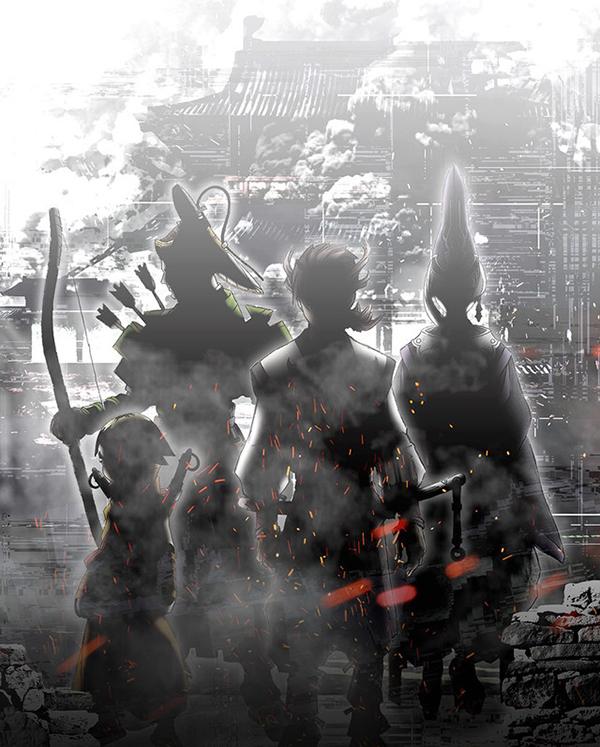 Garo-Guren-no-Tsuki-Teaser-Visual