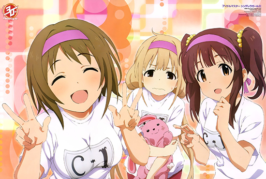 Idolmaster-Cinderella-illustration-magazine