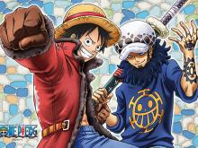 One-Piece-Luffy-&-Trafalgar-Law