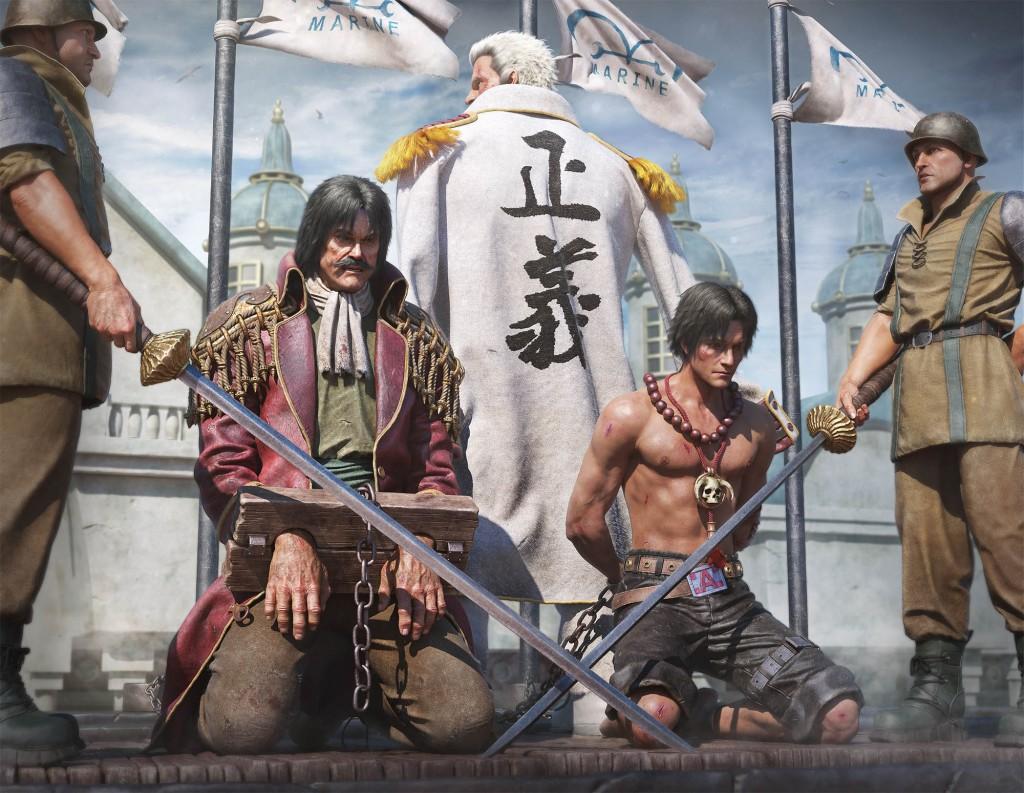 One-Piece-hommage-Gold-Roger-Ace-Garp-by-Zhong-Zhengxiang2