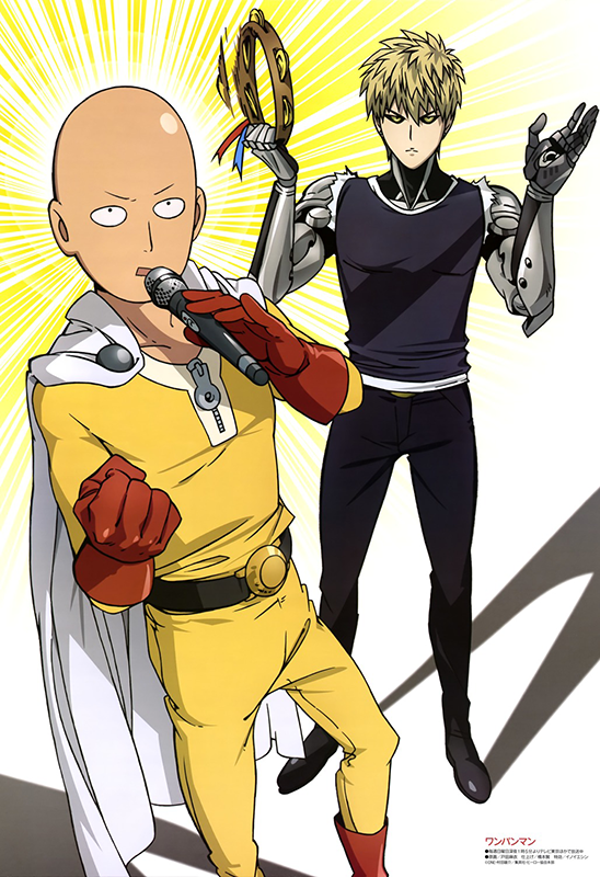 One-Punch-Man-visual-art-magazine