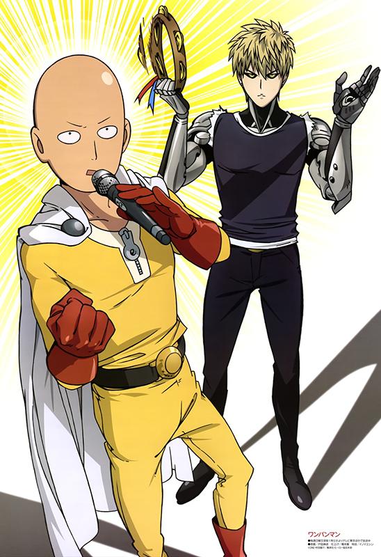 One-Punch-Man-visual-art-magazine