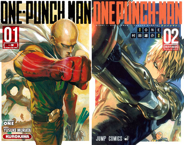 One-Punch-Manga-manga-tome-1-&-2