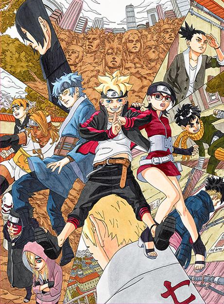 Infos en vrac concernant la licence Naruto Manga-Boruto-annonce
