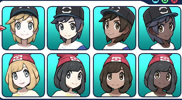 Choix-du-personnages-Pokemon-Sun-&-Moon