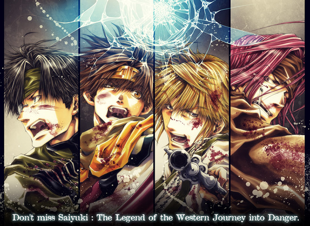 Saiyuki-Reload-Blast-illustration-manga