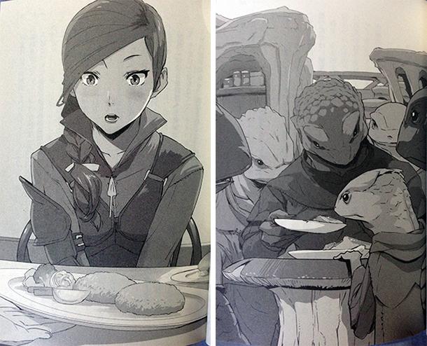 Isekai-Shokudou-illustrations-roman-001