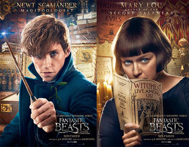 Les Animaux Fantastiques Poster