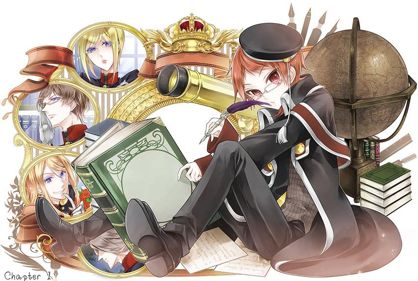 oushitsu-kyoushi-haine-manga-illustration-1