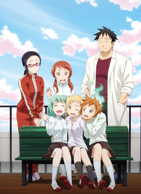demi-chan-wa-kataritai-anime-visual-art