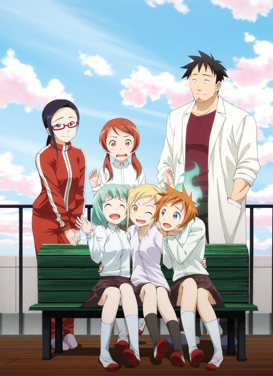 demi-chan-wa-kataritai-anime-visual-art