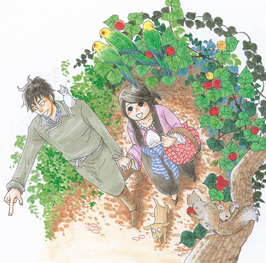 kin-no-kuni-mizu-no-kuni-illustration-manga