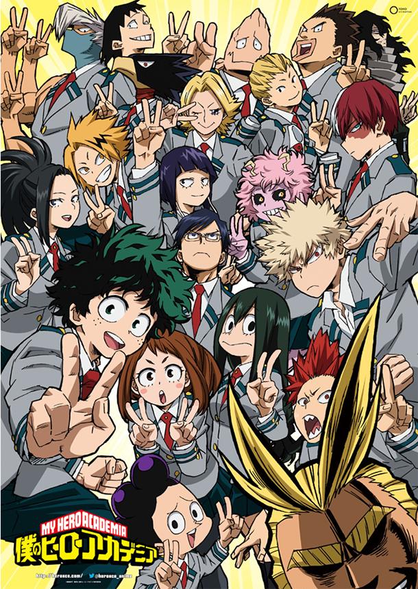 L 39 anime my hero academia saison 2 dat au japon - Date des saisons 2016 ...