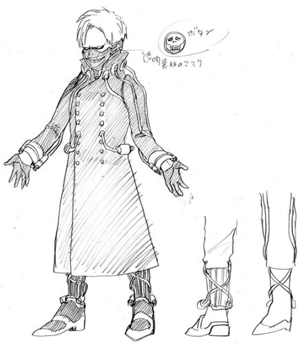 Romeryo-Fujimi-chara-design