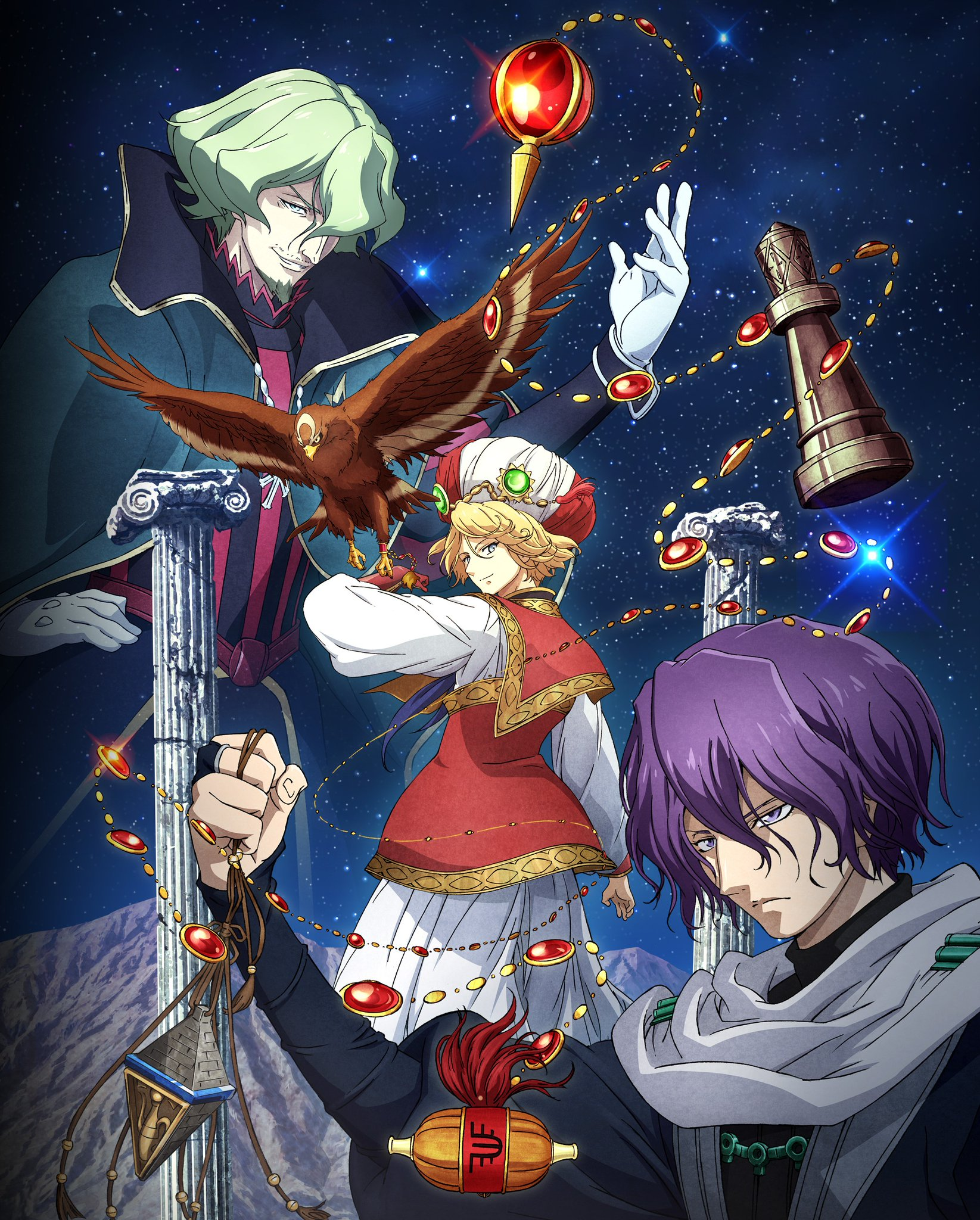 Altair Visual Art Shoukoku no Altair    Project Altair (01 24) VOSTFR   WEB RIP 4K UHD HDR 2160p AAC x265 [NOTAG]