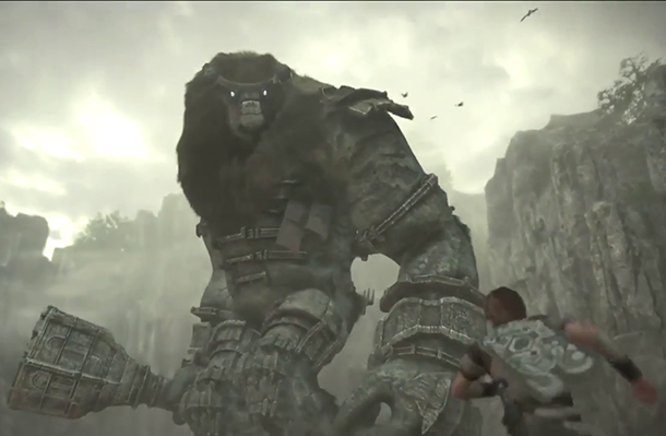 E3 Shadow of the Colossus trailer