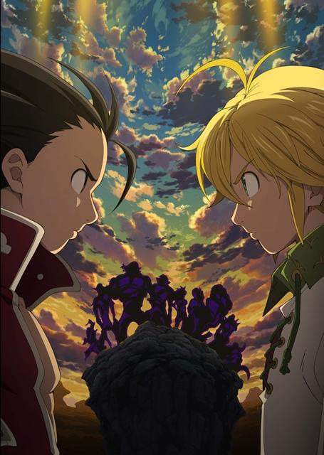 L'anime Nanatsu no Taizai Saison 2, daté au Japon