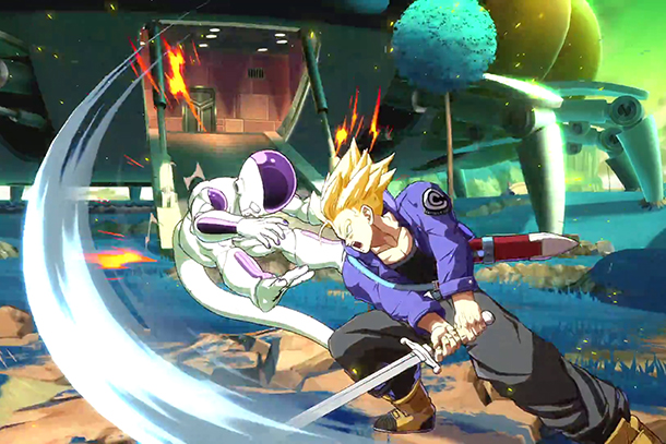 Suivez les tournois de l'EVO en direct — Dragon Ball FighterZ
