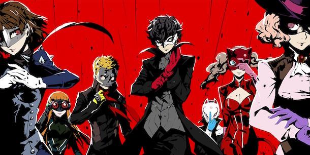 Persona 5 the Animation : une série animée pour le JRPG d'Atlus