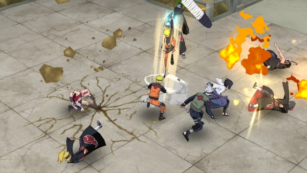 Naruto to Boruto Shinobi Striker, nos impressions tête à l'envers — Gamescom