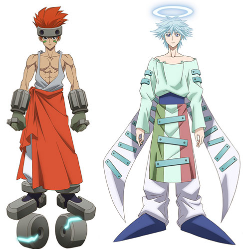 Hakyuu Houshin Manga: Chara Design Du Nouvel Anime Houshin Engi, En Images