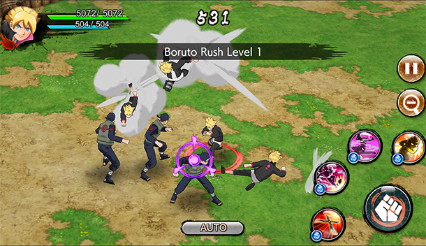 Naruto x Boruto : Ninja Voltage est dispo sur mobiles