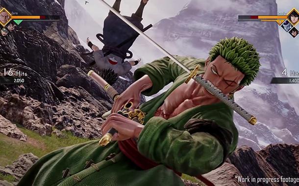 Le jeu de combat JUMP Force, en Gameplay Vidéo E3 2018