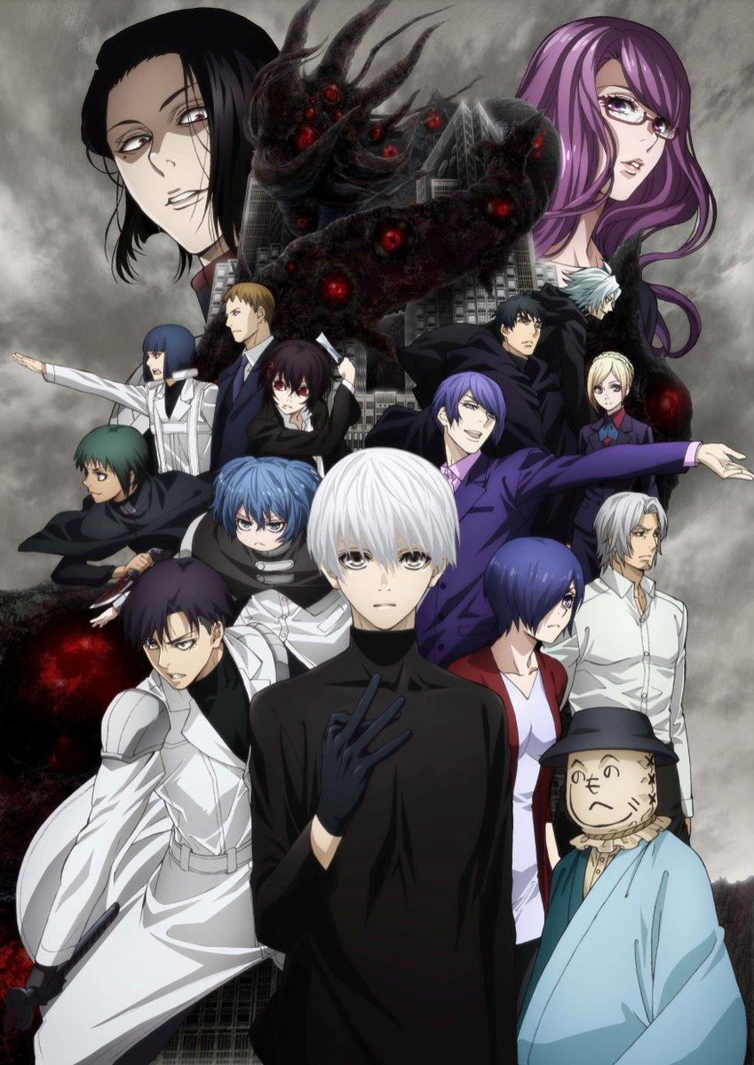 [NEWS] La S02 de Tokyo Ghoul:re en PV Tokyo_GhoulRe_anime_saison2