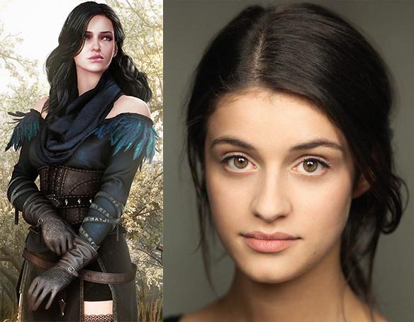 Casting de la série The Witcher : Ciri & Yennefer ...