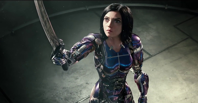 Le film live Alita: Battle Angel (Gunnm), en Trailer 3 FR