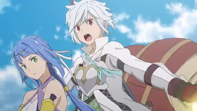 Le film anime DanMachi The Movie, en Trailer 2 | Adala News
