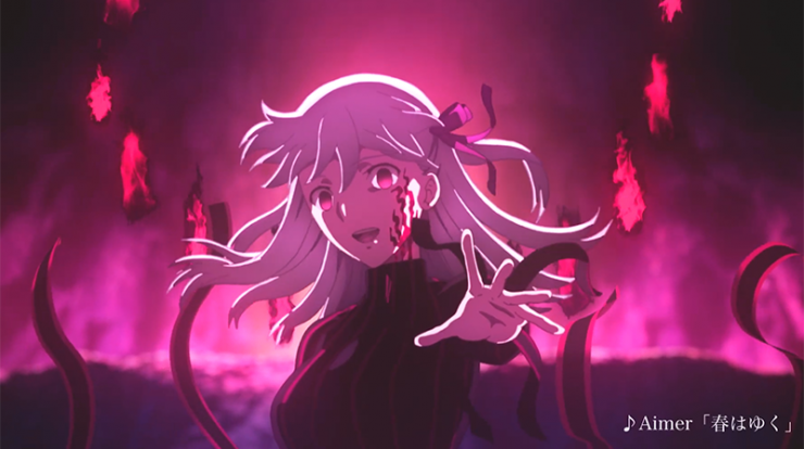 Wallpapers Hd Fate Stay Night Movies Heaven S Feel Iii Spring Song Anime Top Wallpaper